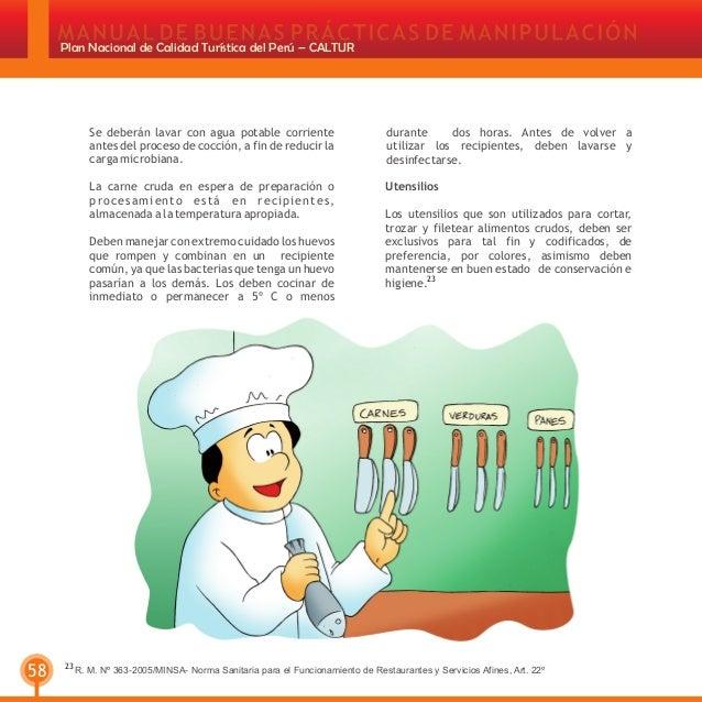 Manipulacion de alimentos - Carne manipulacion de alimentos ...
