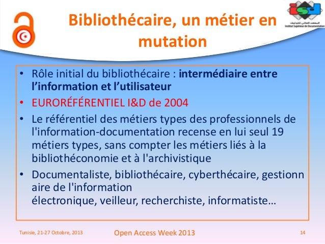Référentiel des métiers-types des professionnels de l'information-documentation - ADBS