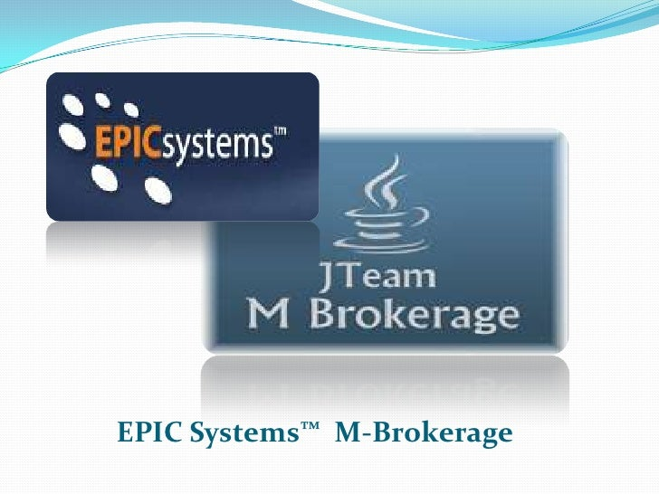 JTeam Presenting Mobile Brokerage