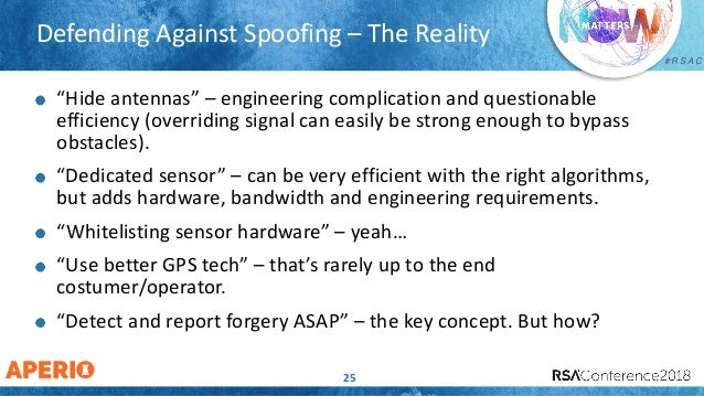 GPS Spoofing: No Longer a Fish Story