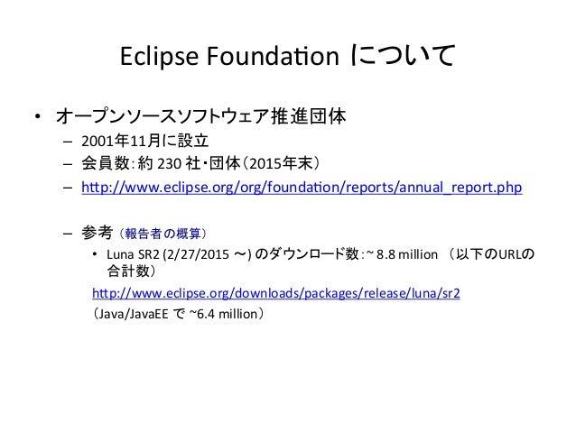 EclipseCon NA2016 report Slide 3