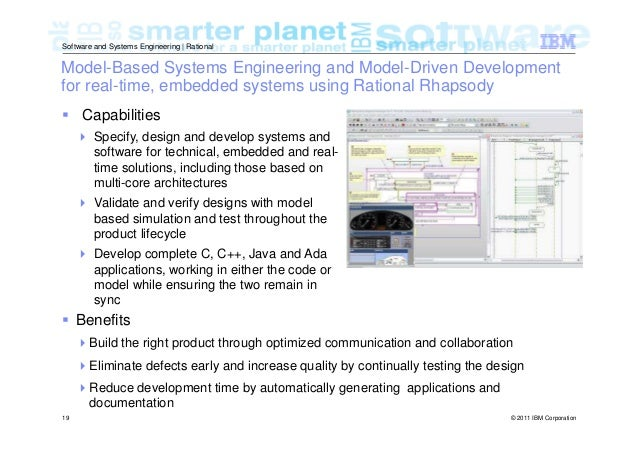 Model Based Systems And Software Engineering An Overview Of The Ibm R