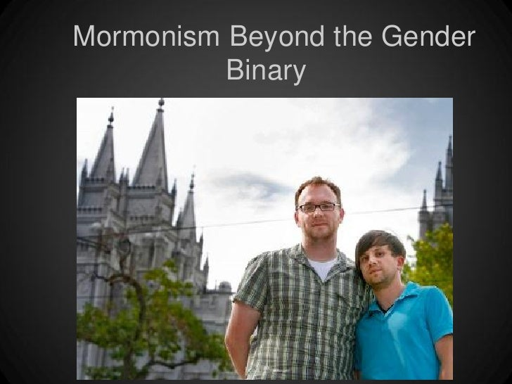 Mormonism Beyond the Gender          Binary