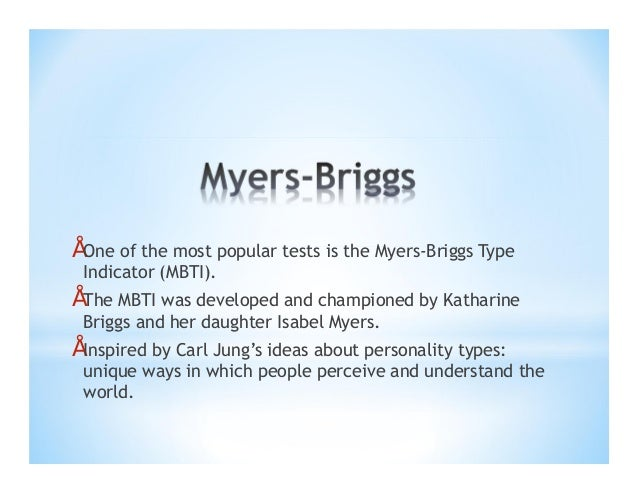 myers briggs type indicator 2 essay Infj is the rarest personality type in the world, according to the myers-briggs  type indicator test, making up less than 2% of the population.