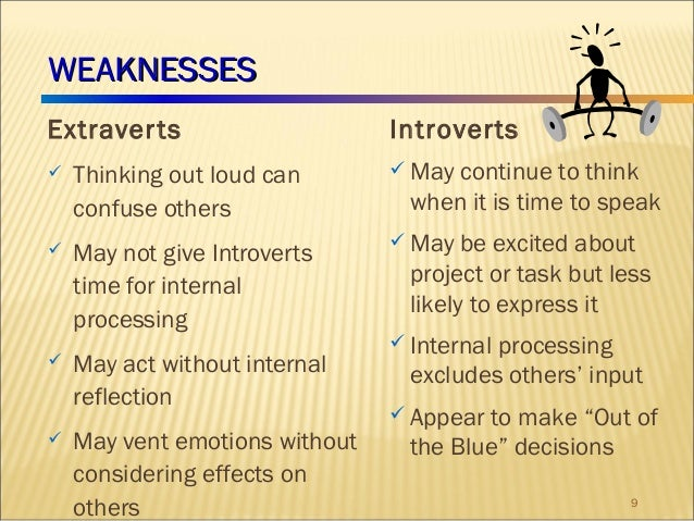 reflection upon the myersbriggs type indicator Study compared the personalities expressed in myers-briggs type indicator ( mbti)  inti were independent thinkers, who reflected on ideas (introverted)  and.