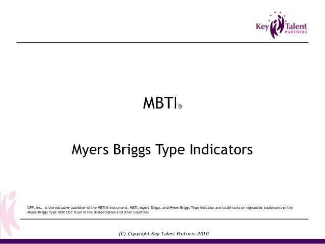 the myers briggs essay Personality tests psychology essays - using the myers-briggs type indicator.