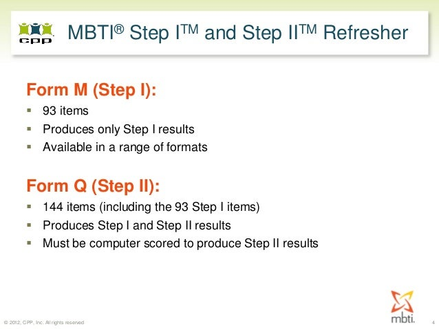 MBTI Step II Forum: Your Questions Answered