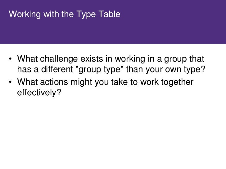 E–I Splitting Exercise     • In your groups, create 3 questions that will give   you better insight into the opposite to y...