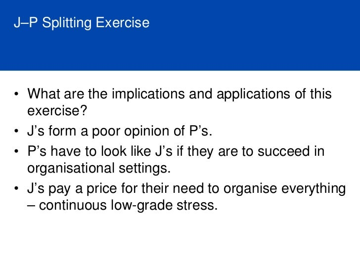 Typical Work Stressors for each of the Preferences                        Stressors for Extraverts                     • W...