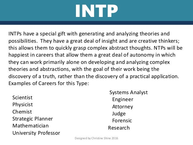 INTP PERSONALITY TRAITS EBOOK