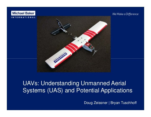 UAVs: Understanding Unmanned Aerial Systems (UAS) and Potential Applications Doug Zeissner | Bryan Tuschhoff
