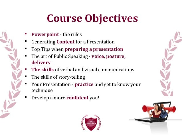 4. Course Objectives  Powerpoint ...