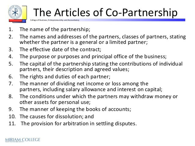 articles of co partnership Log in or sign up articles of (co) partnership love hear articles of (co) partnership define relate.