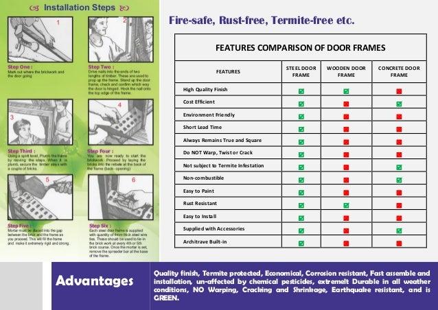 MCR Door Frames Brochure