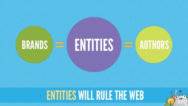 ENTITIES WILL RULE THE WEB