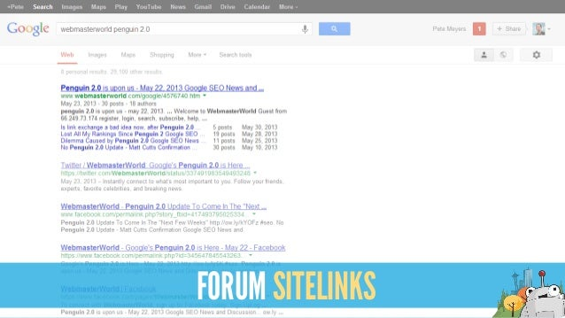 FORUM SITELINKS