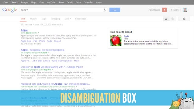 DISAMBIGUATION BOX