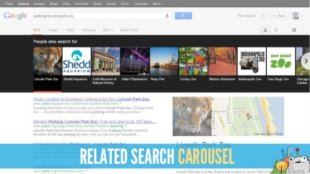 RELATED SEARCH CAROUSEL