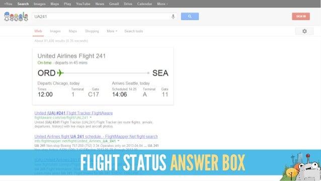 FLIGHT STATUS ANSWER BOX