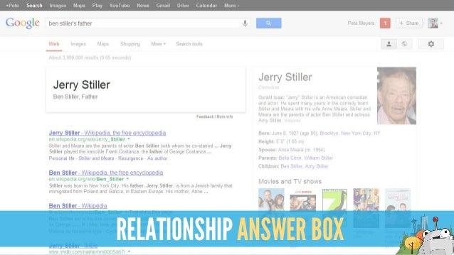 RELATIONSHIP ANSWER BOX