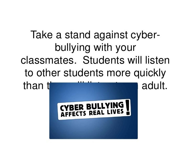 cyberbullying and its harmful effects on Like all forms of bullying, cyberbullying causes psychological, emotional and physical stress each person's response to being bullied is unique, but research has shown some general tendencies.