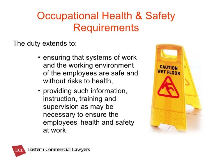 About Occupational Safety and Health Regulations 1996