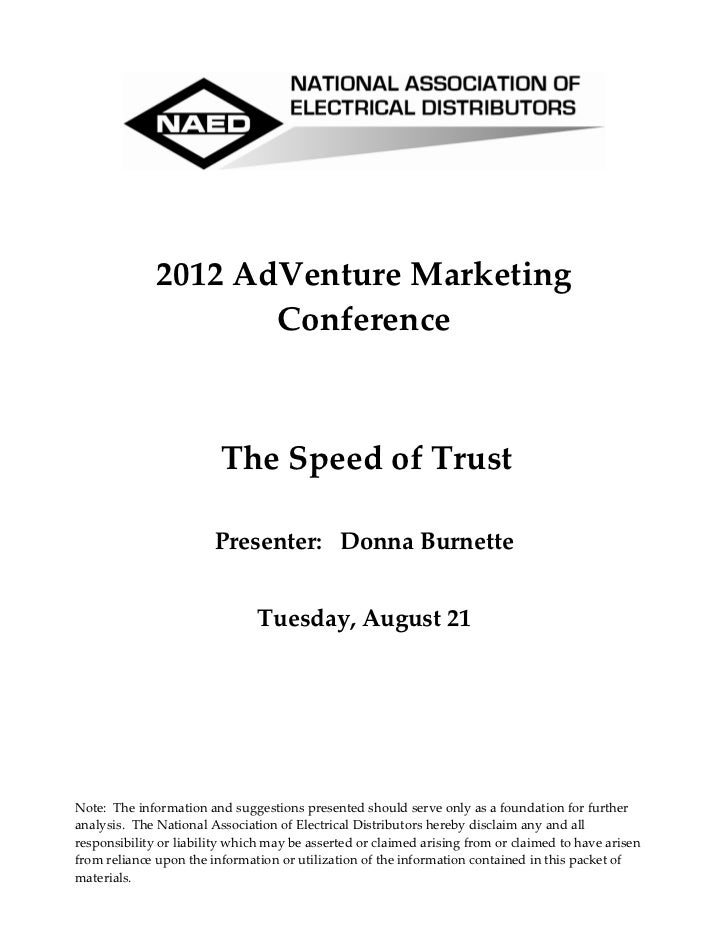 2012AdVentureMarketing                     Conference                                                               ...