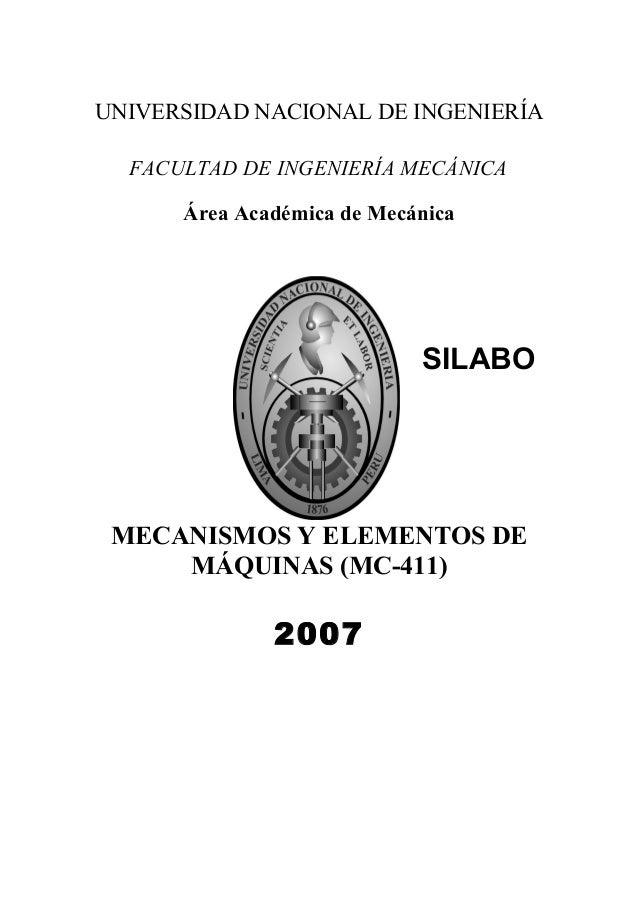 Mc411 mecanismosyelementosdemaquinas