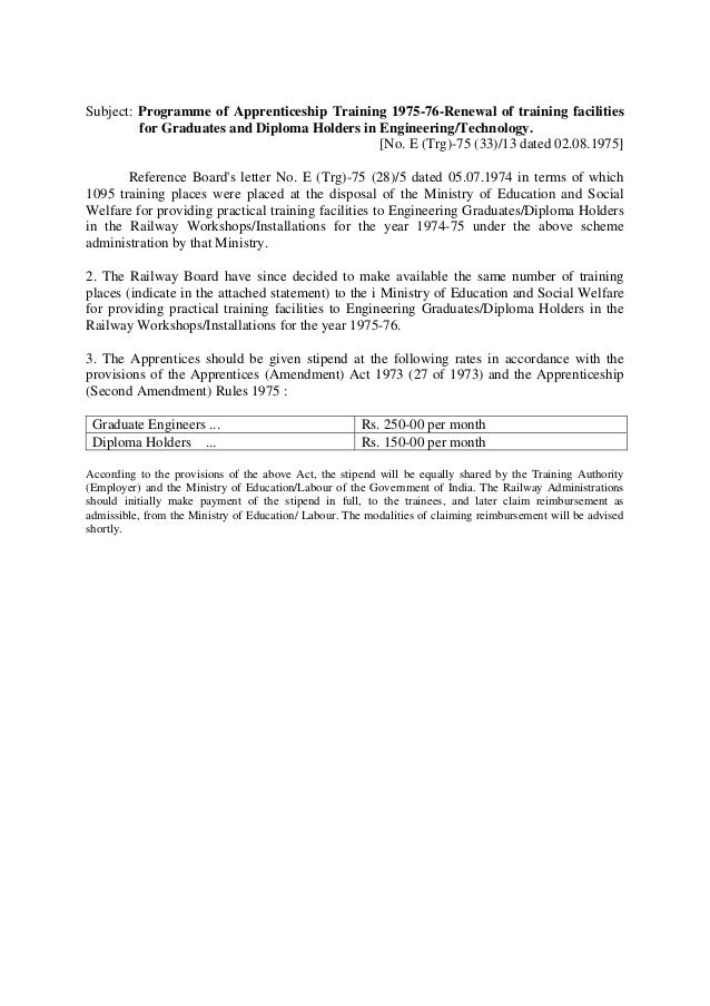 mc8 apprentices act 1961  u0026 training of apprentices in