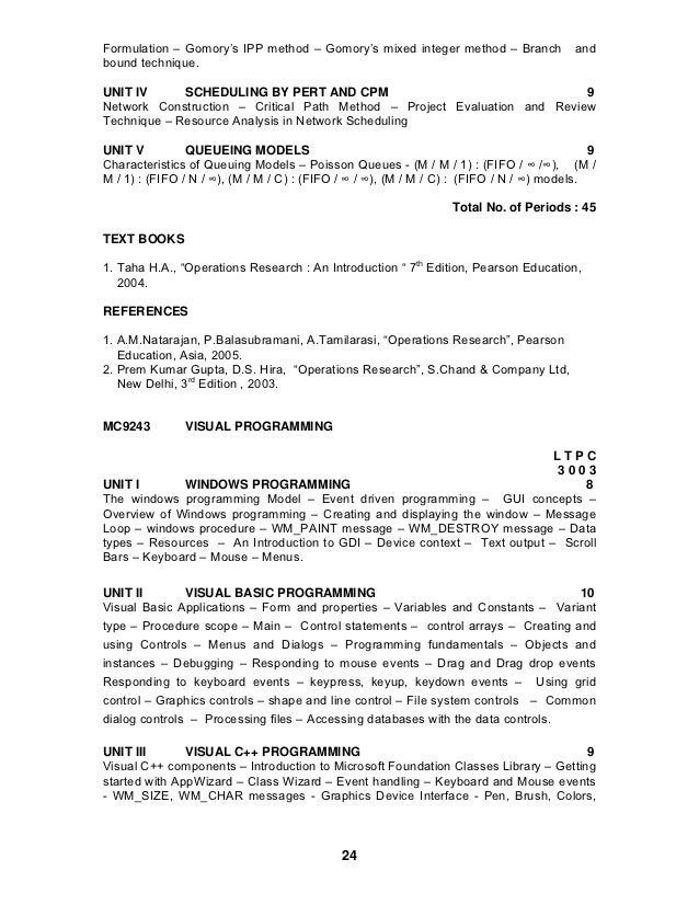 mc9212 problem solving programming lecture notes