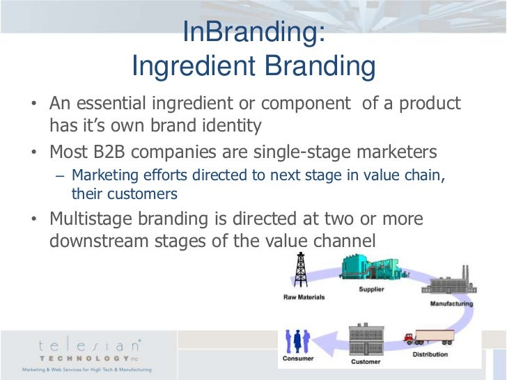 co branding on industrial markets (see also industrial  the b2b market is the largest of all the markets,  because b2b marketing is so closely integrated with the principles of business,.