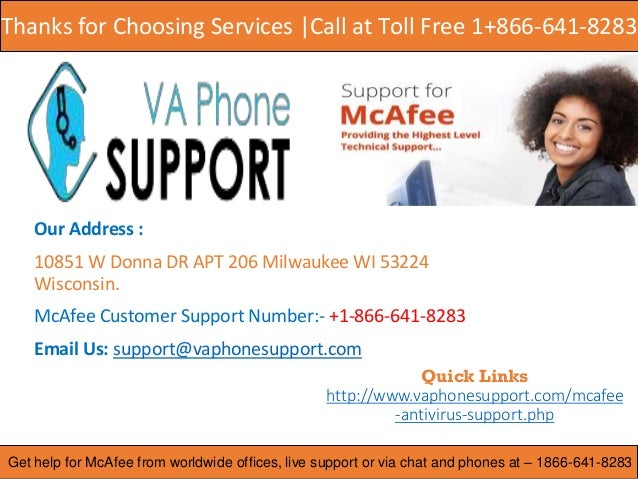 Mcafee Antivirus Support Number ppt
