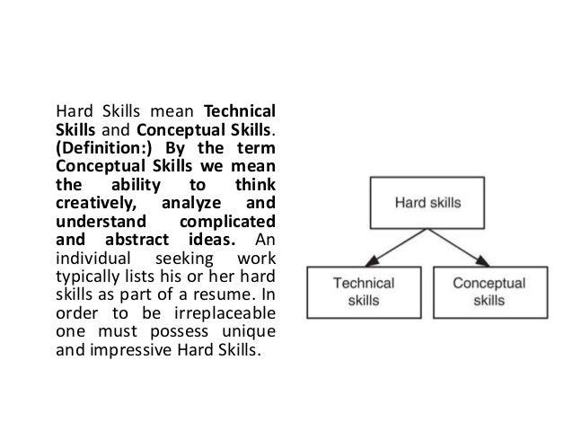 opposite of technical skills