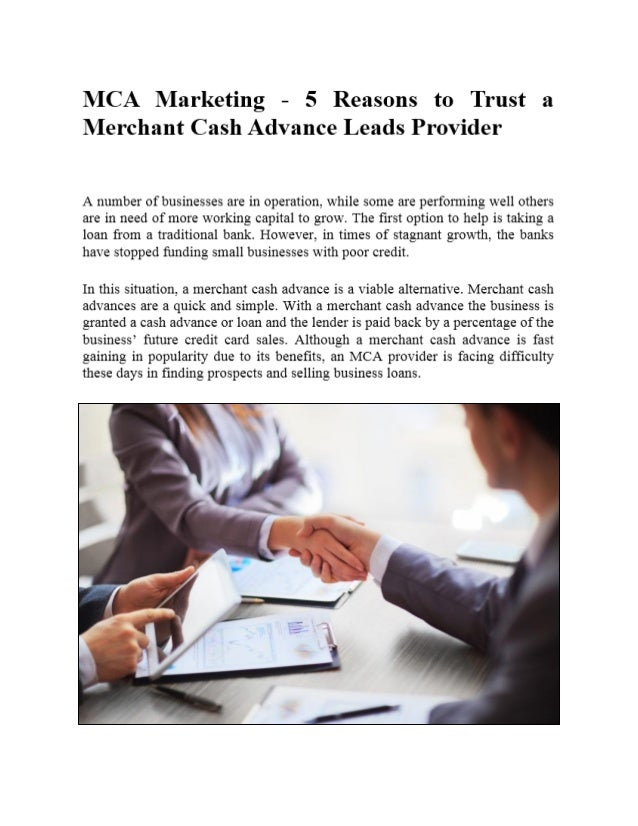 Who To Trust For Cash Advance