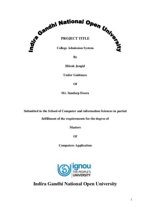 Hybrid application development documentation report (mca project).