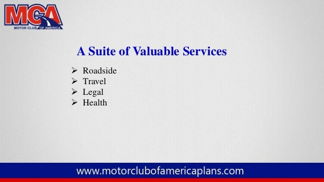 Mca motor club of america full presentation 2014 for American traveler motor club