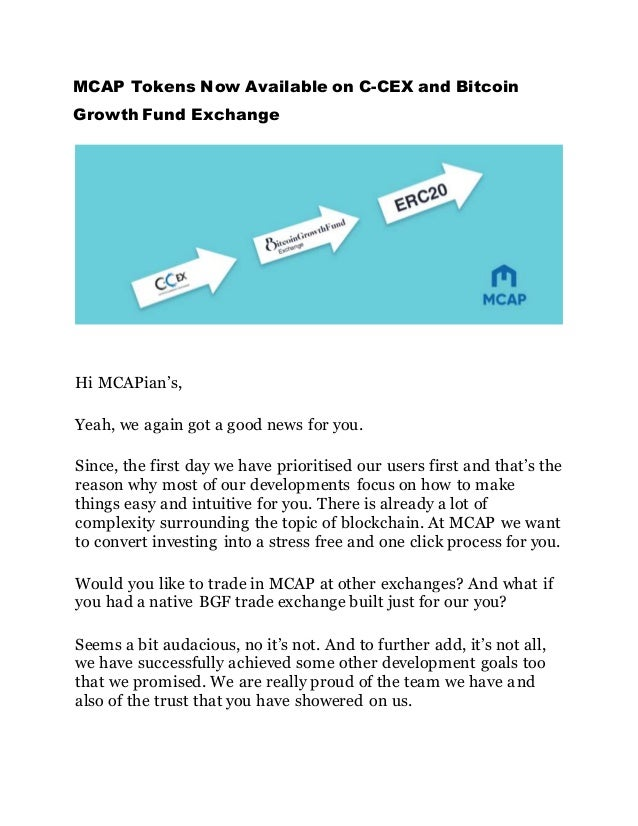 how to sell mcap token