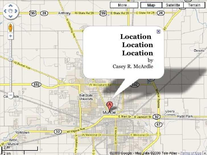 Location  Location Location by Casey R. McArdle