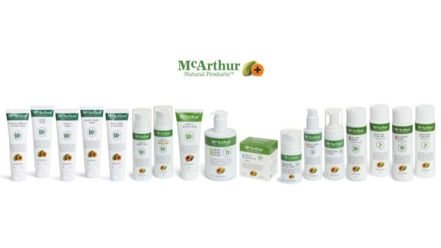 McArthur Natural Products Corporate Presentation 2016