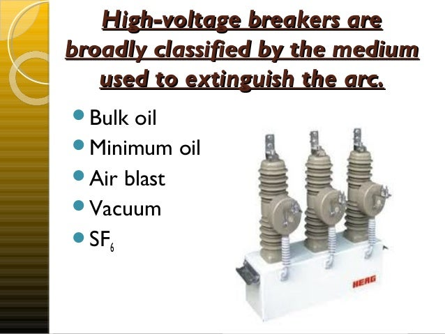 Circuit breaker sulfur hexafluoride sf6 highvoltage circuit breakers sciox Images