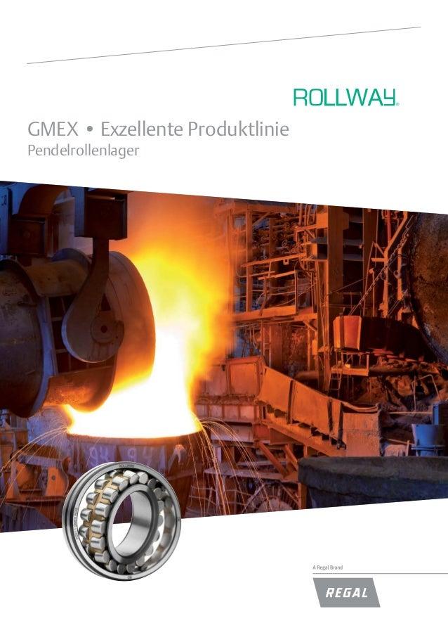 GMEX • Exzellente Produktlinie Pendelrollenlager