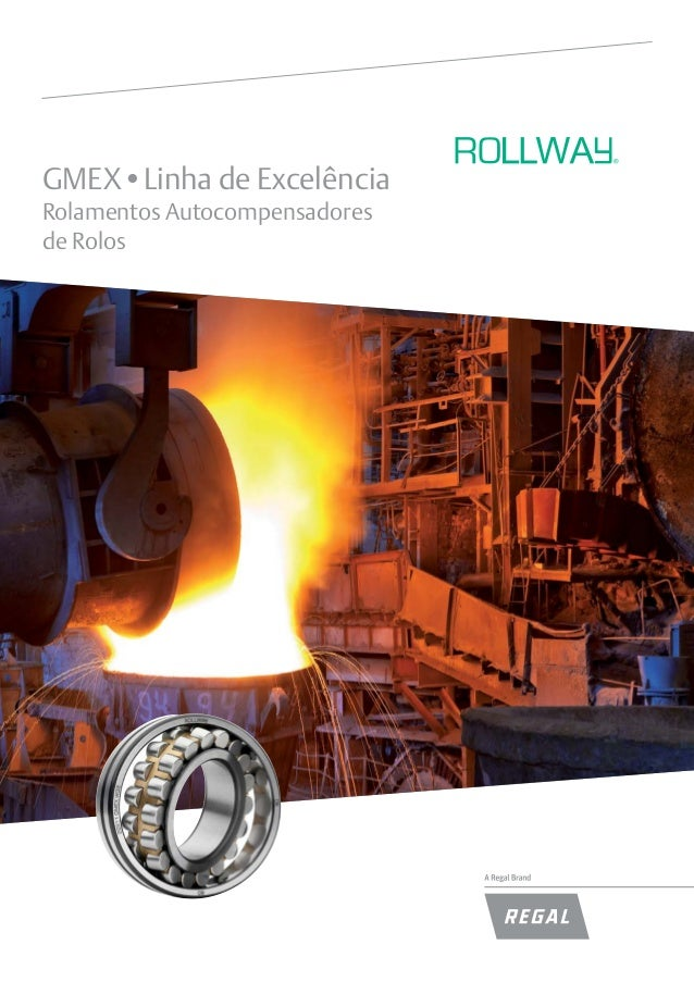 GMEX•Linha de Excelência Rolamentos Autocompensadores de Rolos