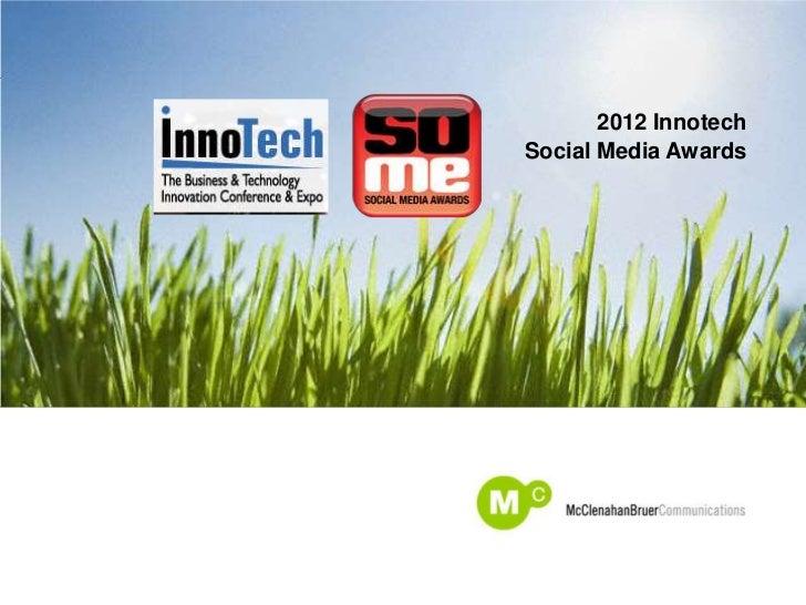 2012 InnotechSocial Media Awards