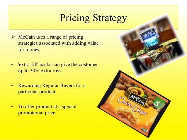 mccain india marketing