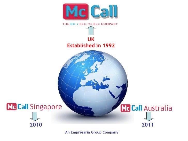 UK       Established in 19922010                                 2011       An Empresaria Group Company