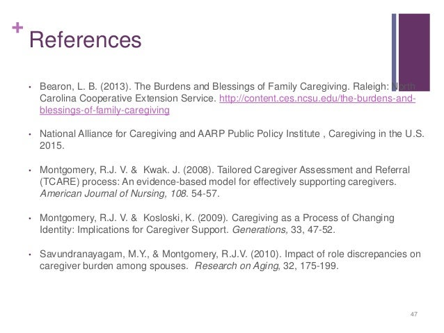 caregiver burden Caregiver burden and generic well-being (stull et al 1994)- a structured,  telephone interview that measures care receiver need, caregiver well-being,  caregiver.