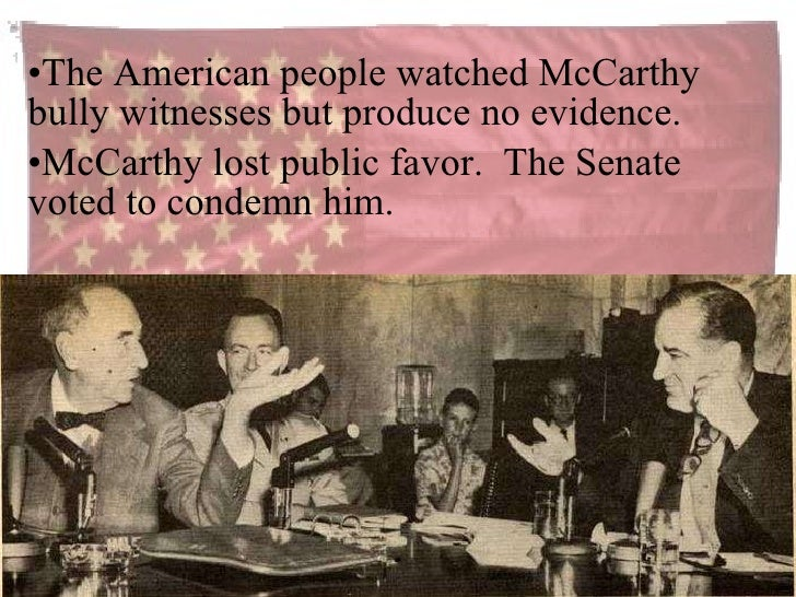 'McCarthyism' by the Numbers
