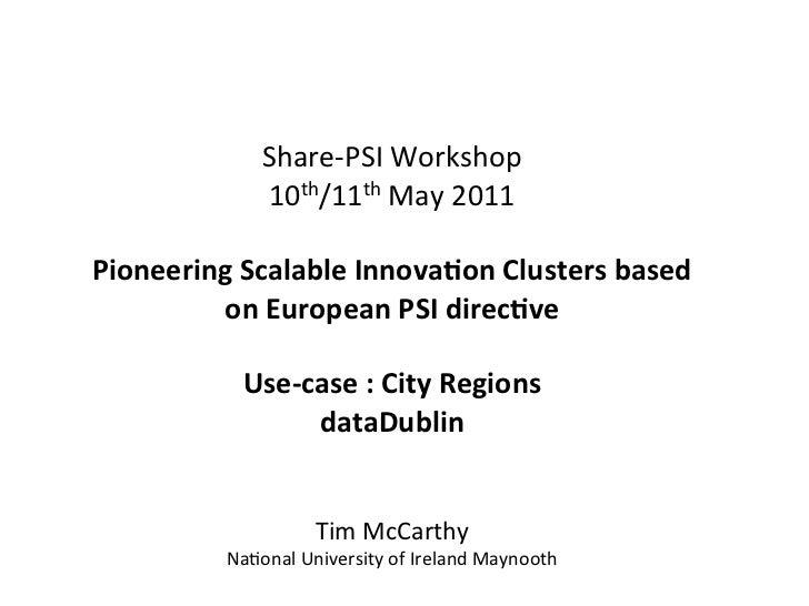 Share-‐PSI Workshop       ...