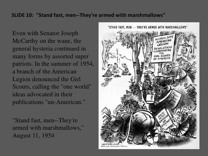 McCarthyism Political Cartoons