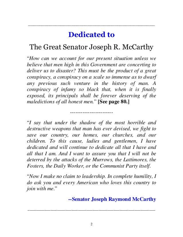 Mccarthys war against communism Slide 2
